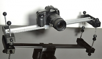2' Linear Camera Slider с штативной головкой и кейсом