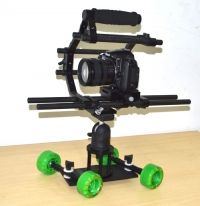 "PROAIM 6"" Cage + Skater Wheel Mini Dolly"