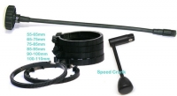 "PROAIM RFV1-27 kit Proaim Follow Focus V1 + Rod Support + 15"" Whip"