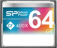 Карта памяти Silicon Power Compact Flash 64 GB (400X)