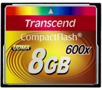 Карта памяти Transcend Compact Flash 8 GB (600X)