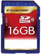 Карта памяти Silicon Power SDHC 16 GB Class 10