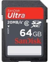 Карта памяти Sandisk SDXC Ultra II 64 GB Class 6