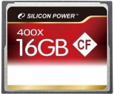 Карта памяти Silicon Power Compact Flash 16 GB (400X)